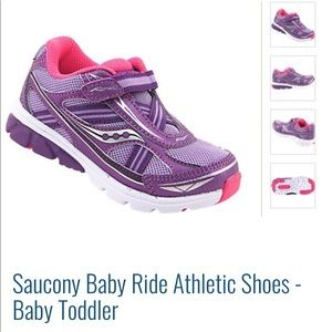 Saucony Ride Toddler shoes